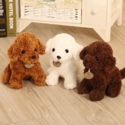 1x 18cm aranyos kutya plüss játék töltött kreatív kutya párna
