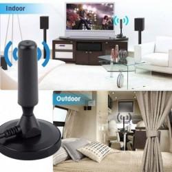 Új beltéri kültéri hordozható Tdt 30dbi digitális DVB-T / FM HD TV antenna koaxiális HDTV jelerősítő