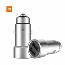 Eredeti Xiaomi Car Metal burkolat Dual USB port töltés Xiaomi Redmi Note 5 Samsung iPhone