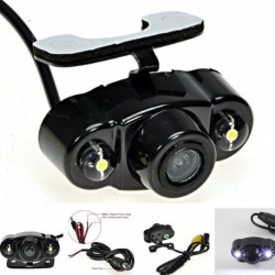 Autó HD hátsó nézet hátrameneti parkolási kamera éjjellátó vízálló