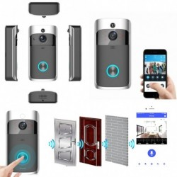 Intelligens WiFi ajtócsengő Vezeték nélküli IR videokamera