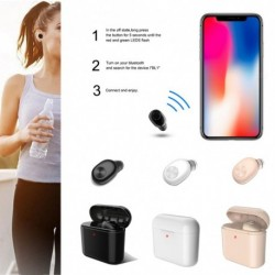 1x Vezeték nélküli Bluetooth fülhallgató Mini Apple Air iPhone 7 8 XS Android