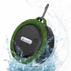 1x Vezeték nélküli Bluetooth kihangosító vízálló mini hangszóró zuhanyfürdő C6
