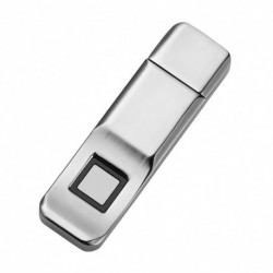 Ujjlenyomat biztonságos vízálló USB hordozható flash memóriakártya 32 GB pendrive