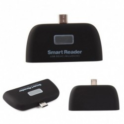 4 in 1 OTG / TF / SD intelligens kártya olvasó adapter Micro USB töltés Tartós port