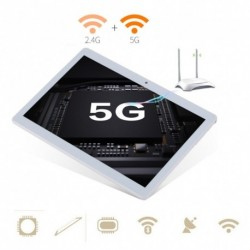 """10.1 """"Tablet PC 4G   64G Android 6.0 Octa-Core két SIM és kamera telefon Wifi Phablet US Plug"""