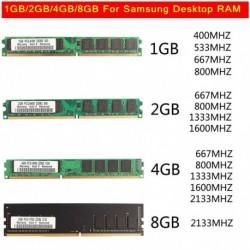 1db Samsung  2GB DDR2 800 hz RAM memória x 1 Asztali számítógép pufferelt