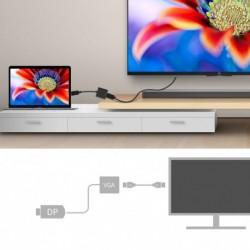 Displayport - VGA DP és VGA adapter közötti megjelenítés  kábel DLLE DP adapter kábel