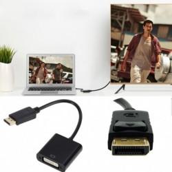 DisplayPort  DVI Adapter Mini kijelző port DP Thunderbolt Conversor