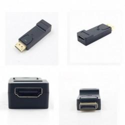 Kijelzőport DP  Adapter kábelátalakító DP HDMI 1080p