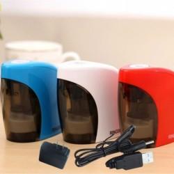 1db Elektromos automatikus ceruzahegyező akkumulátor /USB/US csatlakozó, grafikus színes ceruzákhoz
