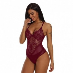 1x Női fehérnemű Bodydoll csipkés szexi erotikus hálóruha body