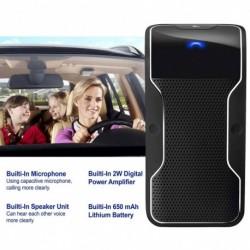 Autó kihangosító többpontos vezeték nélküli Bluetooth hangszóró telefonkészlet Visor klip