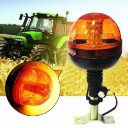 40 LED vészhelyzeti figyelmeztetés Flash Strobe forgó fényjelző traktor borostyán lámpa