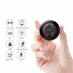 1x Mini HD 1080P WIFI vezeték nélküli IP kamera éjjellátó biztonsági kamera
