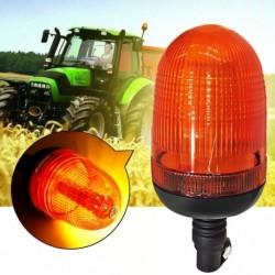 80LED traktor Autó vészhelyzetre figyelmeztető villanófény villogó fényjelző fénymotoros borostyán