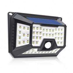 1x 66 LED mozgásérzékelő biztonsági vízálló lámpa otthoni, szabadtéri lámpa