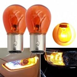 2db autóvilágítás 1157 BAY15D  féklámpa jelző lámpa 21W DC12V fehér / borostyán