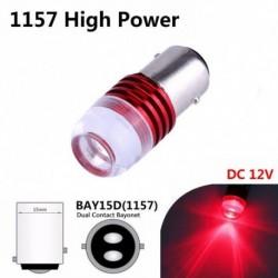 1db 1157 BAY15D 1154 2057 2357 2397 LED izzó Autó hátsó stop fékhez Piros