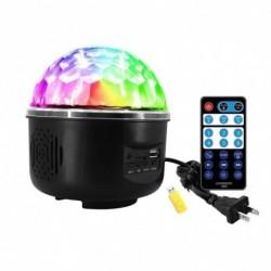 1x Mini MP3 színes forgó projektor világítás