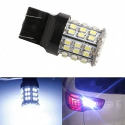 1db T20 LED 64-SMD 1206 féklámpa izzó lámpa fehér W21W 7443 7440