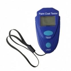1x Vastagságmérő mérő LCD digitális autófestés bevonat vastagságmérője