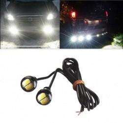 2db Eagle Eye LED 9W 18mm 5730 izzó Fehér motoros biztonsági mentés lámpa