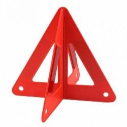 Autó  fényvisszaverő forgalmi figyelmeztető jel háromszög vészhelyzet
