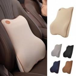Autóülés háttámla párna memóriahab lélegző szék lumbális derékpárna