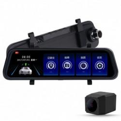 """10 """"Autó DVR kamera Stream média hátsó tükör FHD 1080P  videó felvevő L900"""