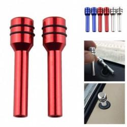 Univerzális 2db ajtózár pólus Autó biztonsági ajtó belső emelés  gomb emelő alumínium ötvözet