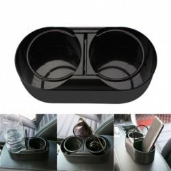 Autó palack víz tartó kupak állvány teherautó-szereléshez ABS Dual Hole Drink