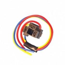1db H4 3 pólusú fényszóró cseréje javító izzótartó csatlakozó dugaszoló vezeték csatlakozója
