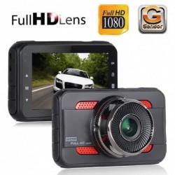 3 `` Full HD 1080P Autó DVR videokamera felvevő műszerfal Dash Cam G-érzékelő