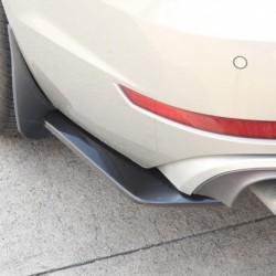 2db autó univerzális fekete hátsó lökhárító ajak diffúzor Splitter Canard Protector
