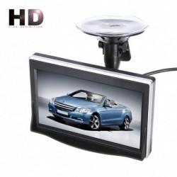 5 hüvelykes TFT LCD HD képernyős monitor autó tolató tolató kamerahez 800 * 480