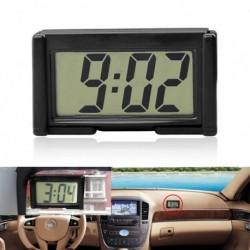 Mini Autó óra Auto autó teherautó műszerfal idő önragasztó konzol jármű elektronikus digitális óra