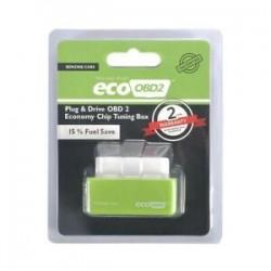 Zöld. Gazdaságos üzemanyag-megtakarító Eco OBD2 Benzin Tuning Box Chip autós benzinmegtakarításhoz 4Color
