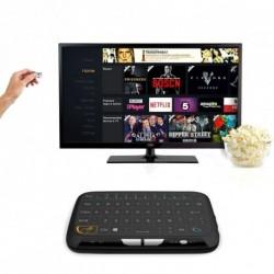 H18 Mini Wireless Keyboard teljes képernyős nagy Touchpad levegő egér Windows és Android rendszer