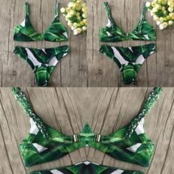 1x Új Női Fürdőruha Bikini Push-up Párnázott szivacsos melltartó fürdőruha