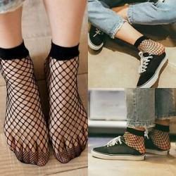 Női szexi hálós háló hálózati hálós harisnyanadrág szoros harisnya divat zokni fekete