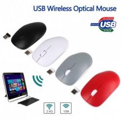 2,4 GHz-es csúcsminőségű vezeték nélküli optikai egér és USB 2.0 vevő pc laptophoz * 212