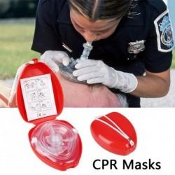 1x Professzionális elsősegélynyújtó maszkok CPR légzésvédő maszk