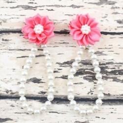 Nyári csecsemő gyerekek baba lány virág gyöngy mezítláb gyűrű szandál láb karkötő