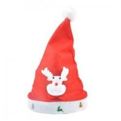1 x Felnőtt gyermekek LED karácsonyi kalap Mikulás rénszarvas hóember fél sapka ajándék