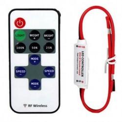 12V-os RF vezeték nélküli kapcsoló vezérlő halványabb, a Mini LED csík fény