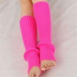 Divat női horgolt kötött magas térd láb melegítők leggings téli meleg Boot zokni
