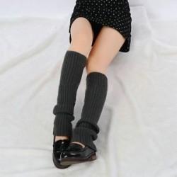 Nők téli meleg horgolt kötött magas térd láb melegítő leggings Boot zokni Slouch