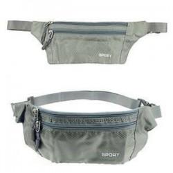 Vízálló sport futó öv bum derék tasak Fanny csomag kemping túrázás Zip táska