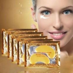 Új 5/10 páros hidratáló bőrápoló gél kollagén EYE hidratáló arcmaszk